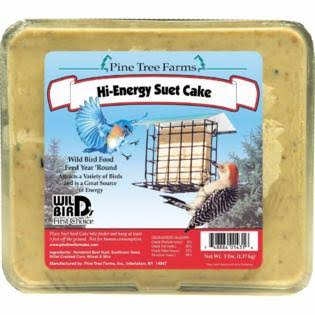 Pine Tree Farms Hi Energy Suet Cake - 3lbs