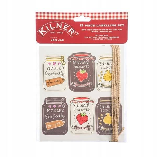 Kilner 13 Piece Jam Jar Tag Set