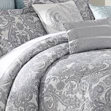 Lavender And Grey Bedding by Luxe Lavender 9 Piece Comforter Set White Duvet Covers White