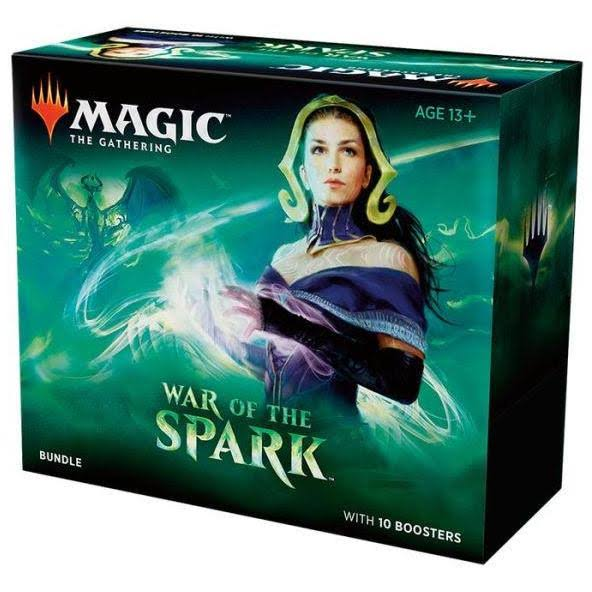 Magic The Gathering War of The Spark Bundle