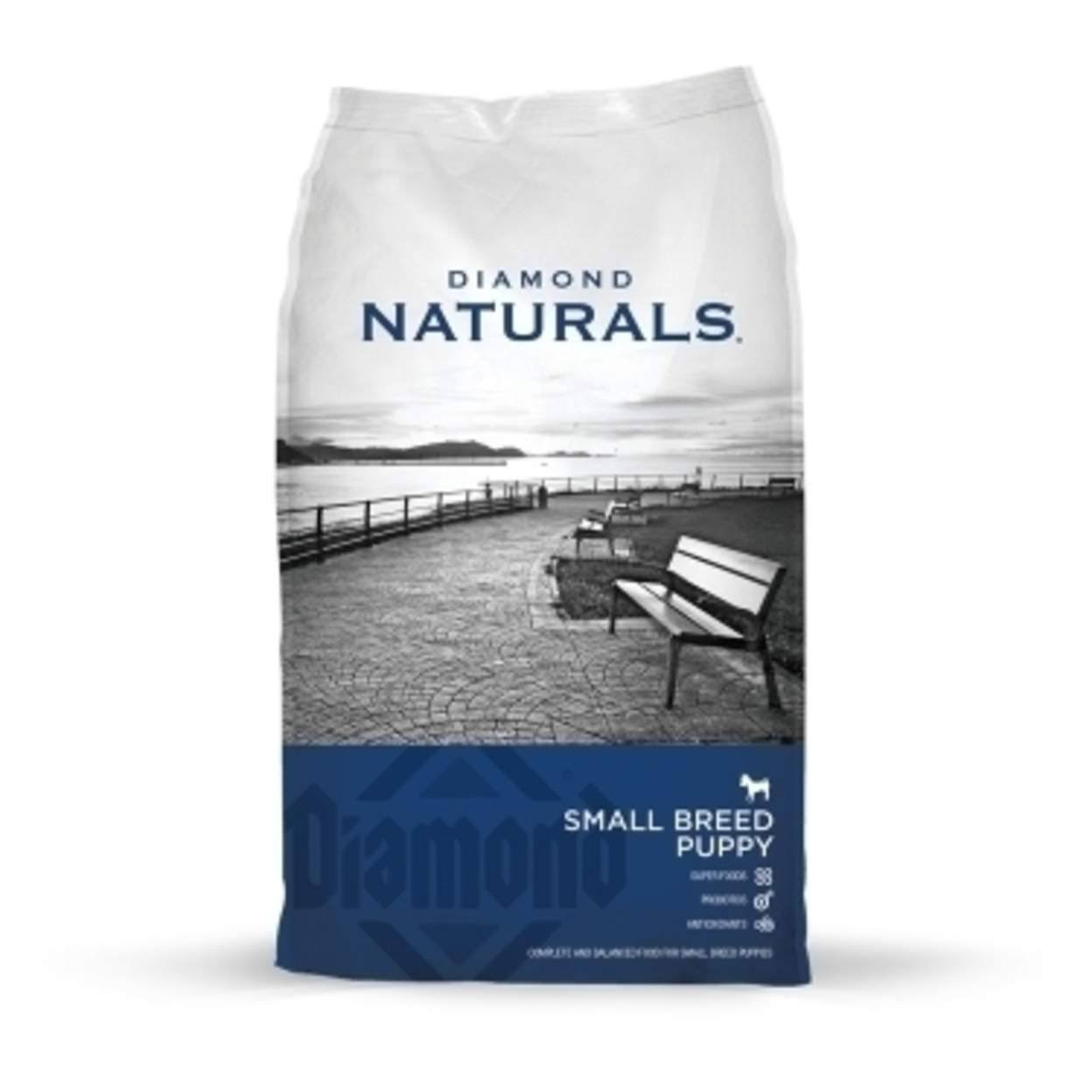 Diamond Naturals Small Breed Puppy Dry Food - 18-lb
