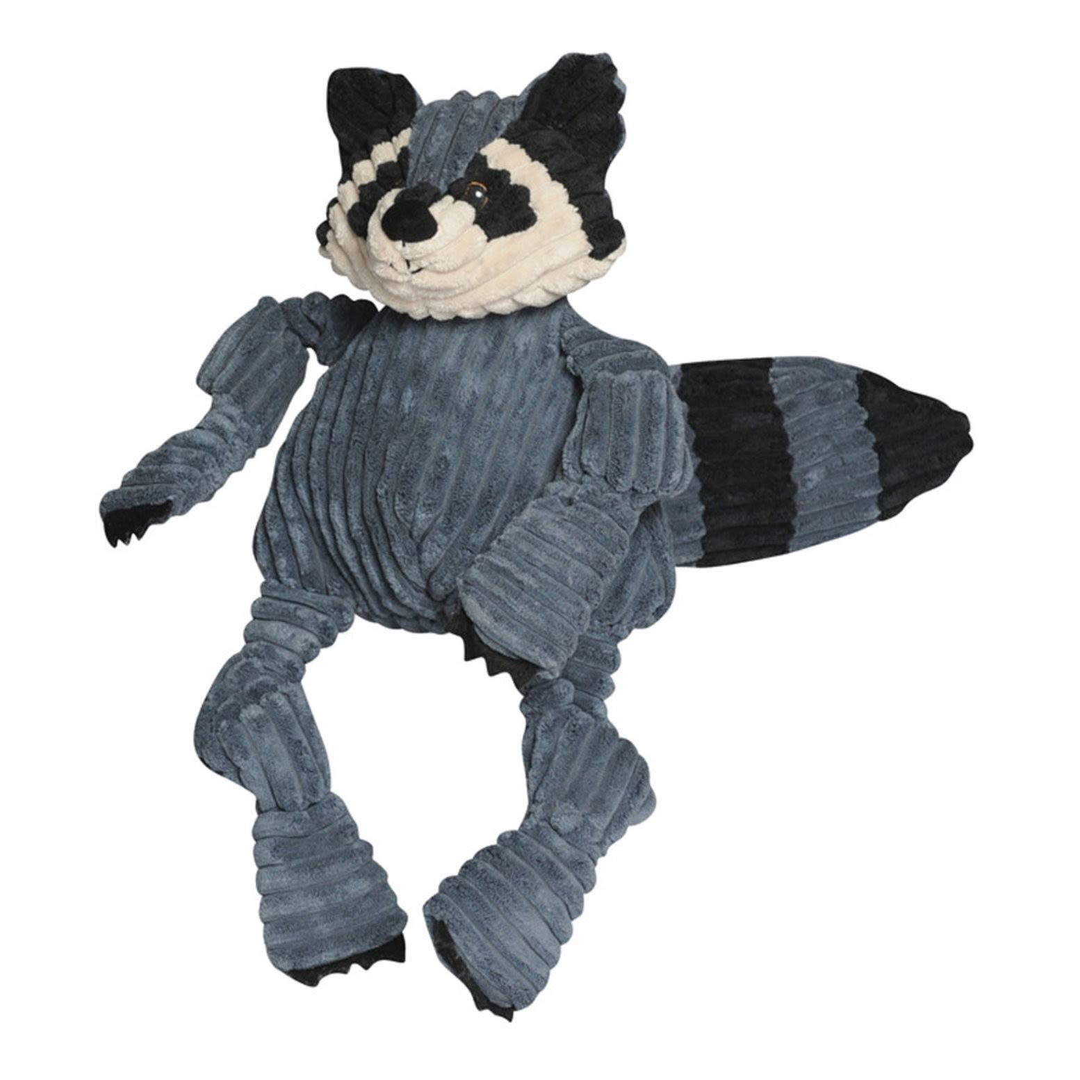 Hugglehounds Knotties Raccoon Dog Toy - Large