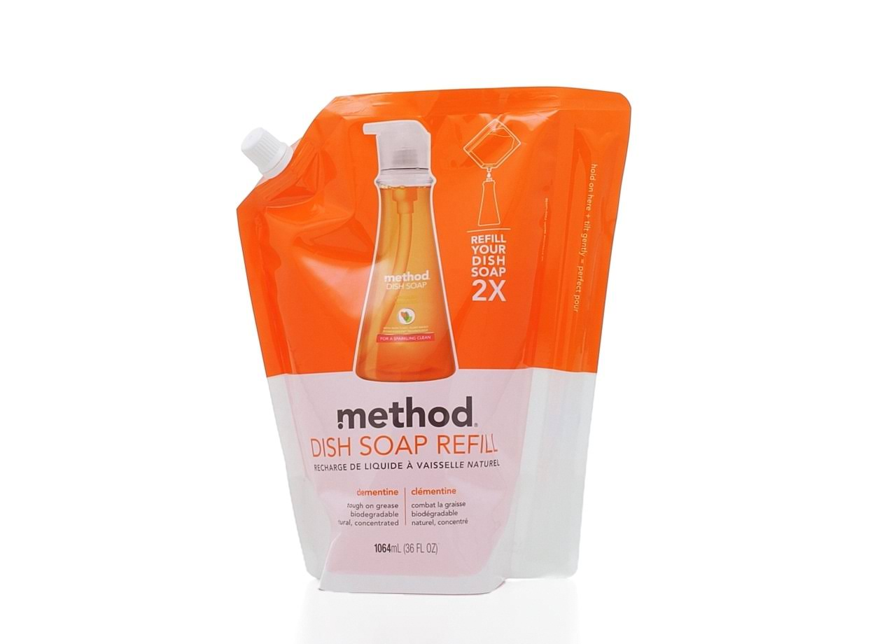 Method Dish Soap Refill - Clementine. 1064ml