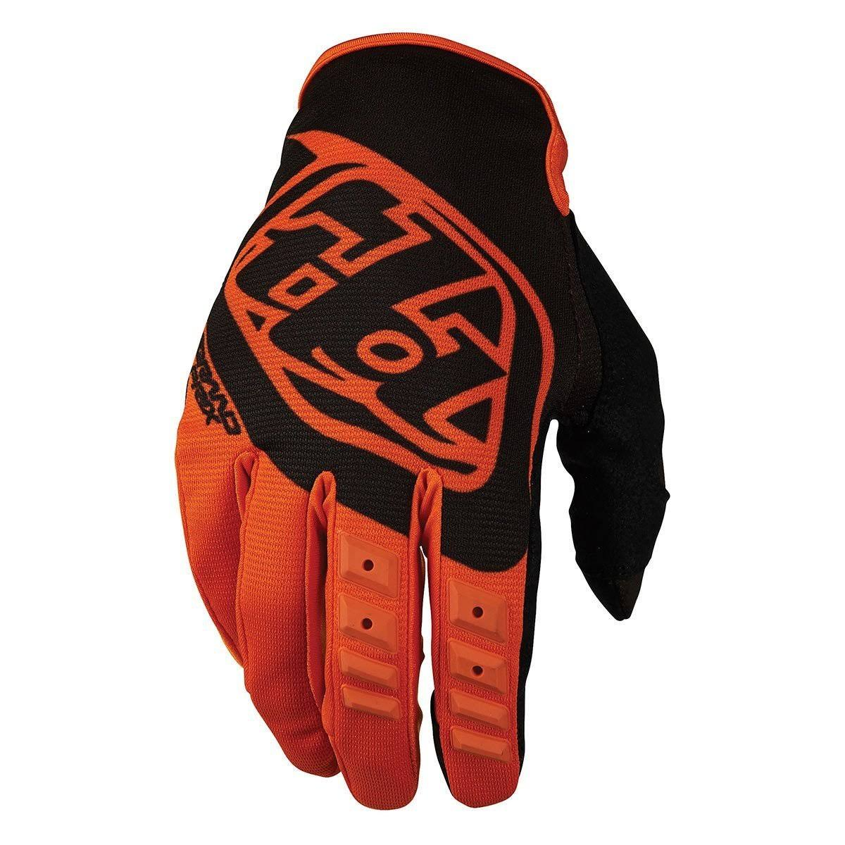 2017 Troy Lee Youth GP MX Motocross Gloves - Orange