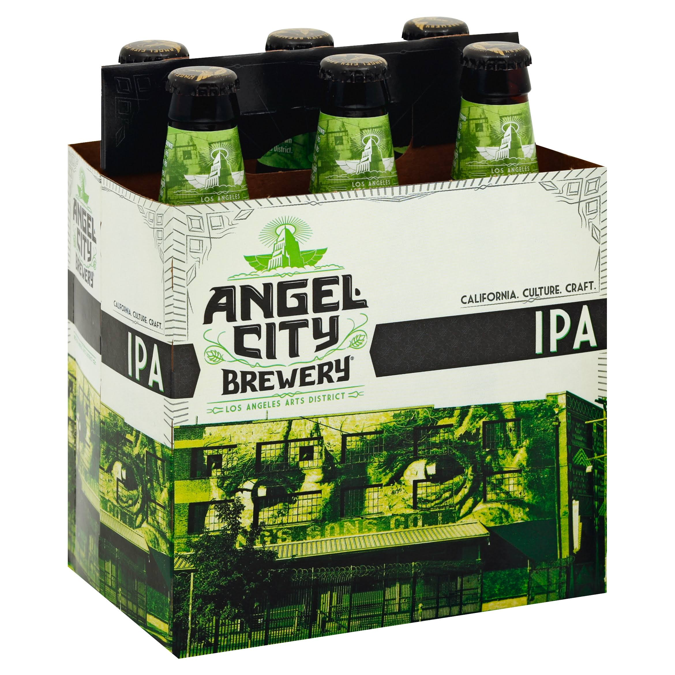 Angel City Angeleno IPA - 6 pack, 12 fl oz bottles