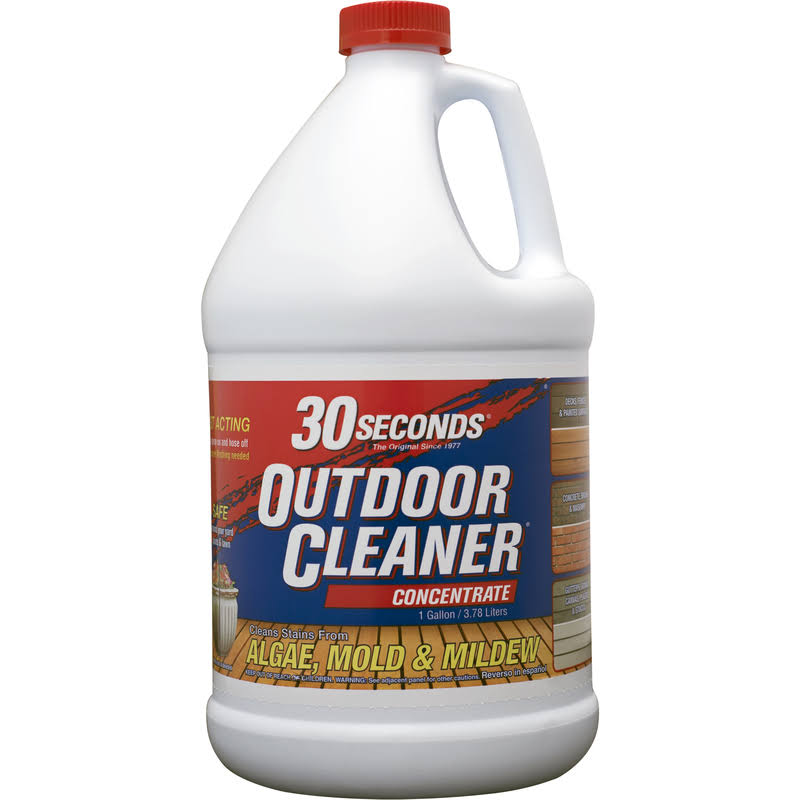 30 Seconds Outdoor Cleaner Concentrate - 3.78l