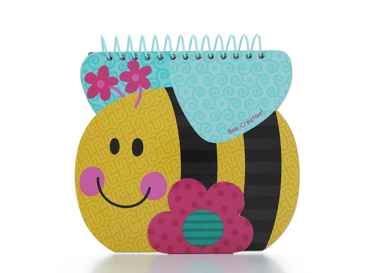 Stephen Joseph Shaped Sketch Pad - Bee