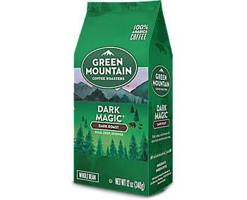 Green Mountain Dark Magic Dark Roast Ground Coffee - 12 Oz