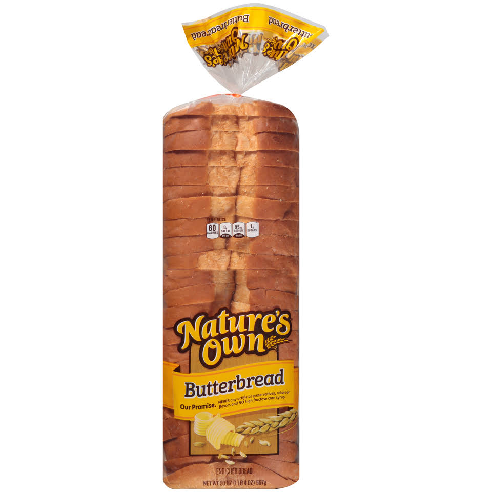 Nature's Own Butterbread Enriched Bread