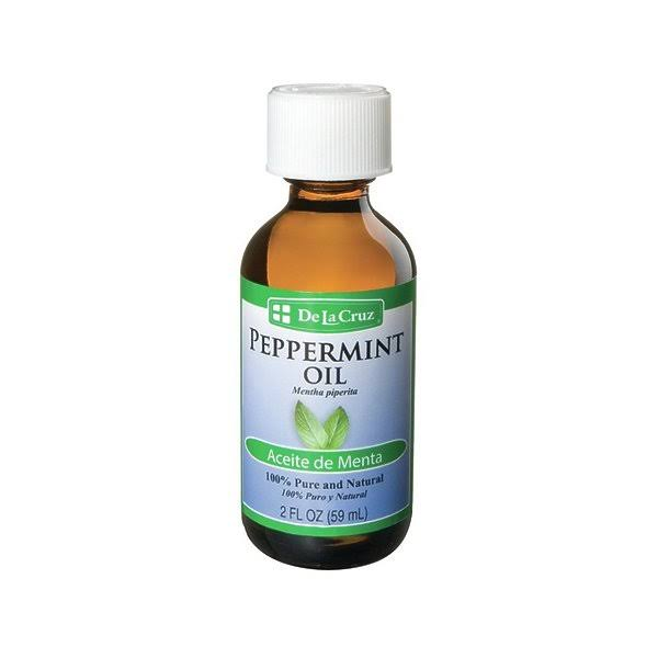 De La Cruz 100 Pure and Natural Peppermint Oil - 2oz