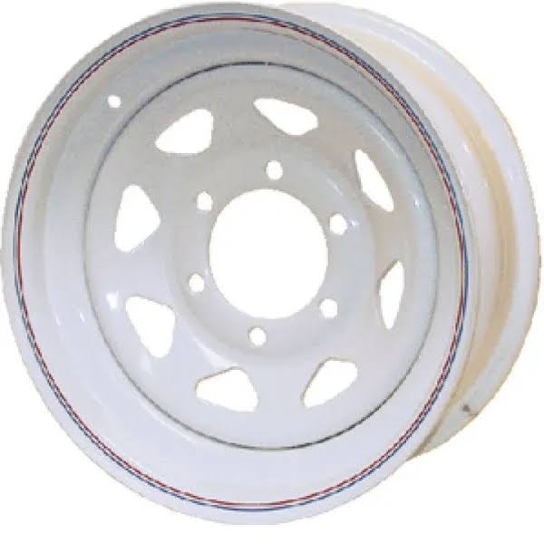 "Loadstar Tire Wheel, White, 13"" x 4.5"""