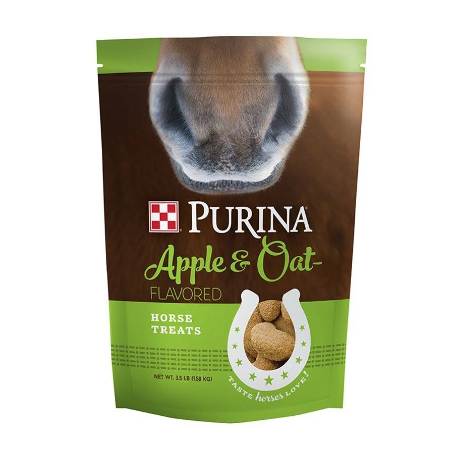 Land O'Lakes Purina Feed LLC Horse Treats - Apple & Oats, 3.5lb