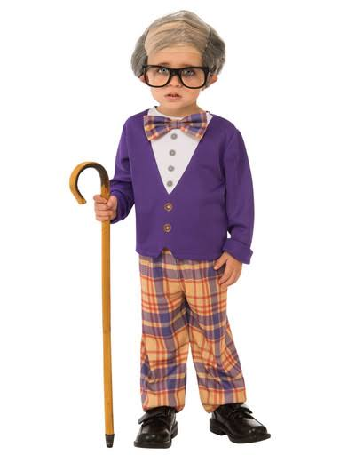 Little Old Man Boys Costume - Small