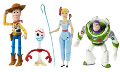 Disney Pixar Toy Story 4 Adventure Multi-Figure 4-Pack