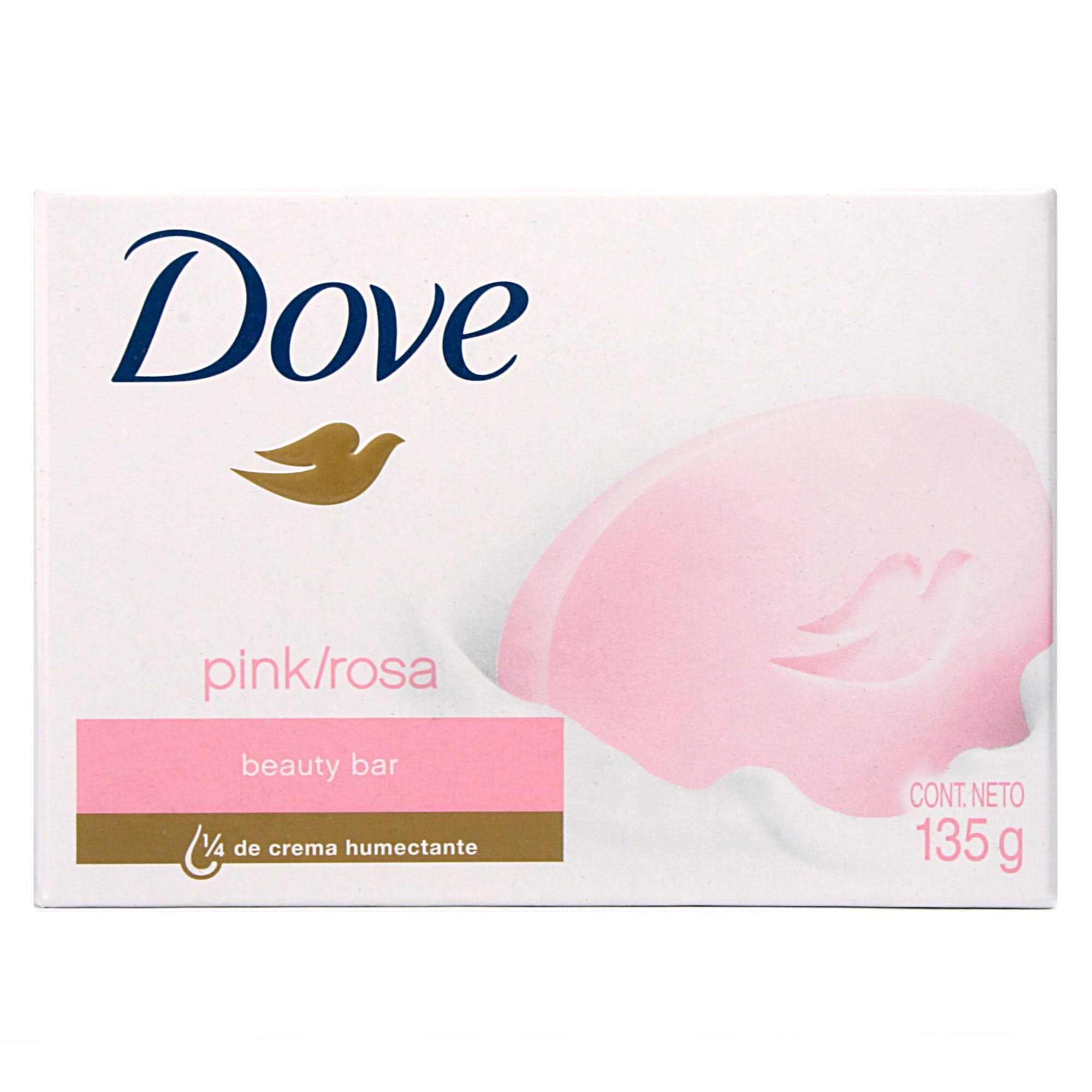 Dove Pink Rosa Beauty Bar - 135g