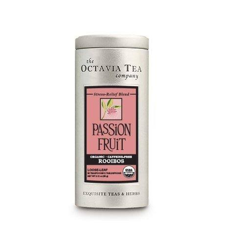 Octavia Paradise Organic Red Loose Tea - 4 oz canister