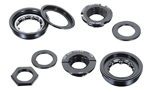 Black Ops BMX Bottom Bracket Set - Black, 24tpi