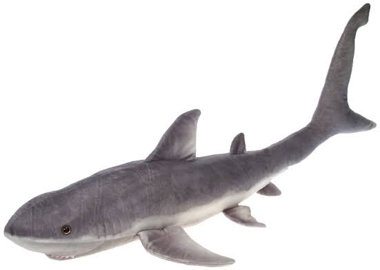 Fiesta Toys Giant Great White Shark Plush Stuffed Animal Toy - 54 Inches