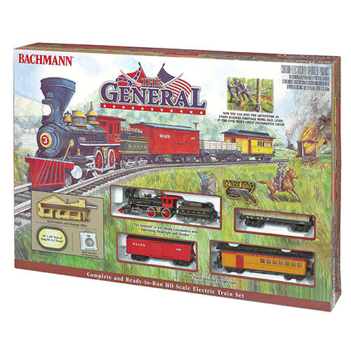 Bachmann The General HO Scale Electric Train Set