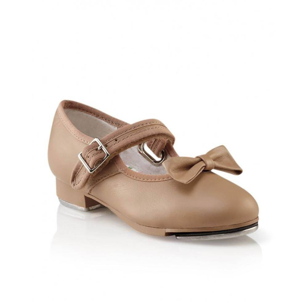 Capezio 3800 Mary Jane Tap Shoes - Caramel, Size 13.5 US