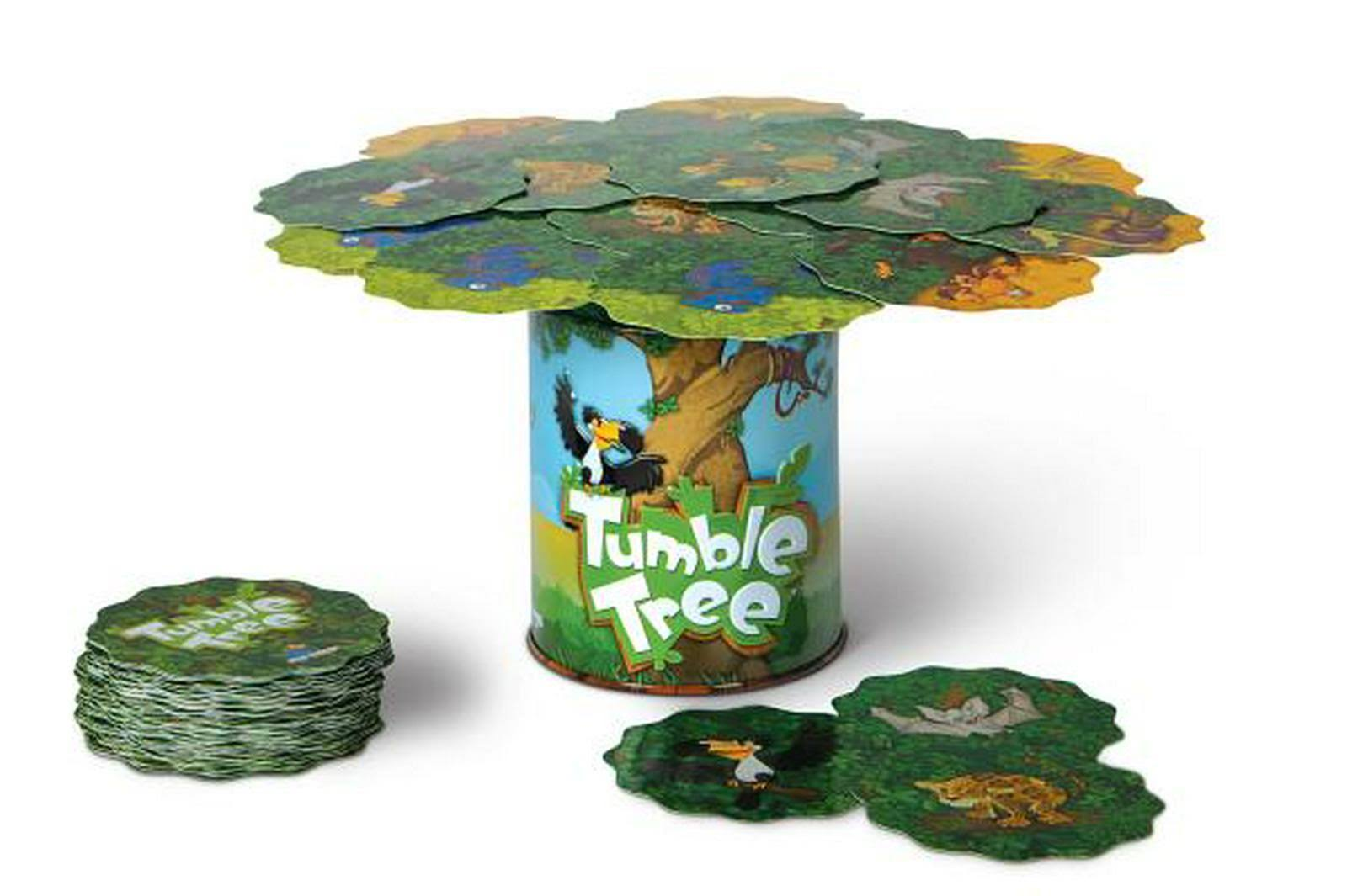 Blue Orange Tumble Tree Game