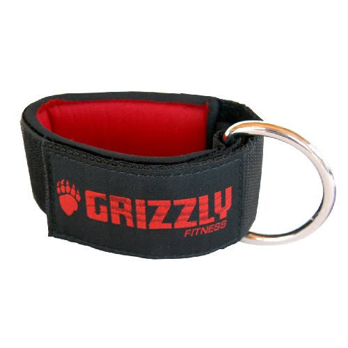 Grizzly Fitness Neoprene Ankle Strap - 2""