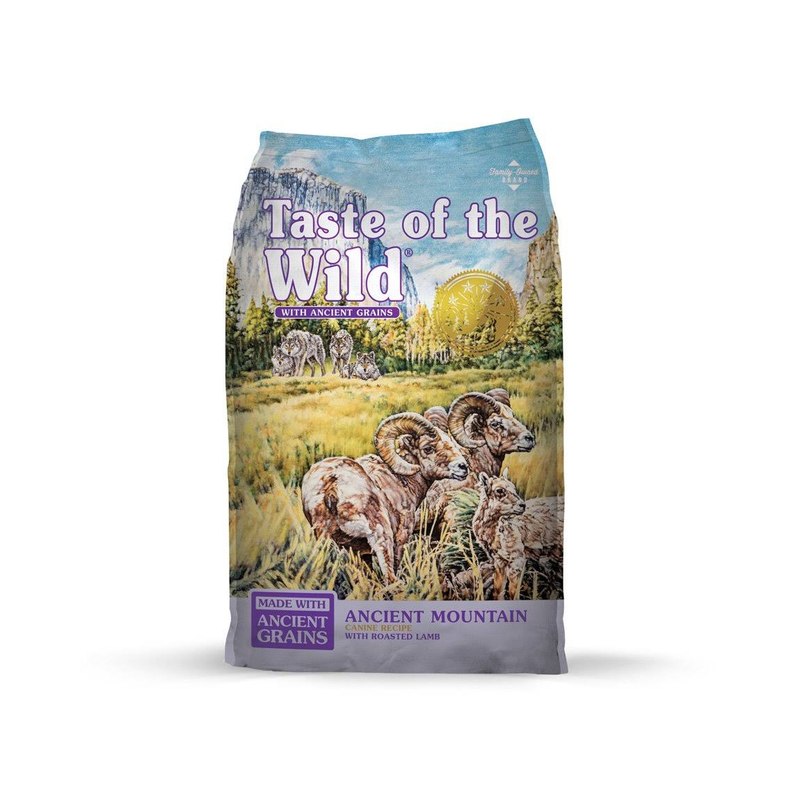 Taste of The Wild Ancient Mountain with Ancient Grains Dry Dog Food, 28 lb