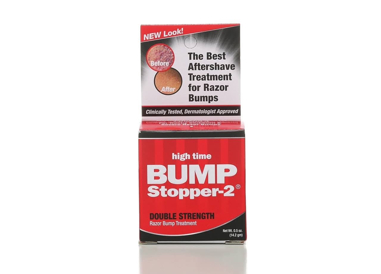 Bump Stopper-2 High Time Double Strength Razor Bump Treatment - 0.5oz
