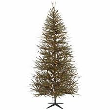 Vickerman Flocked Slim Christmas Tree by Vickerman Vienna Twig Tree With 1057 Tips 8 Feet By 52 Inch