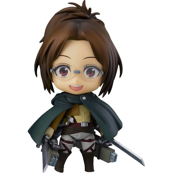 Good Smile Nendoroid Attack on Titan PVC Figure - Hange Zoe, 4""