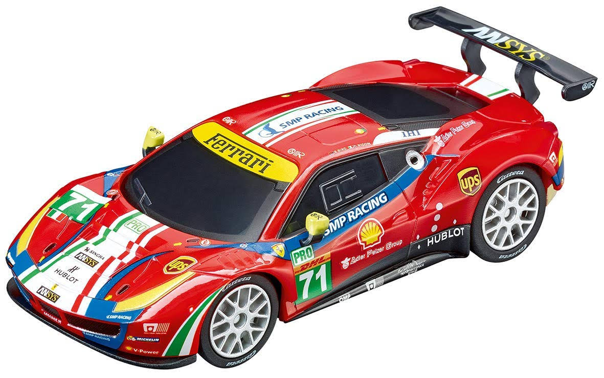 Carrera Go Ferrari 488 GTE Slot Car - 1/43 Scale