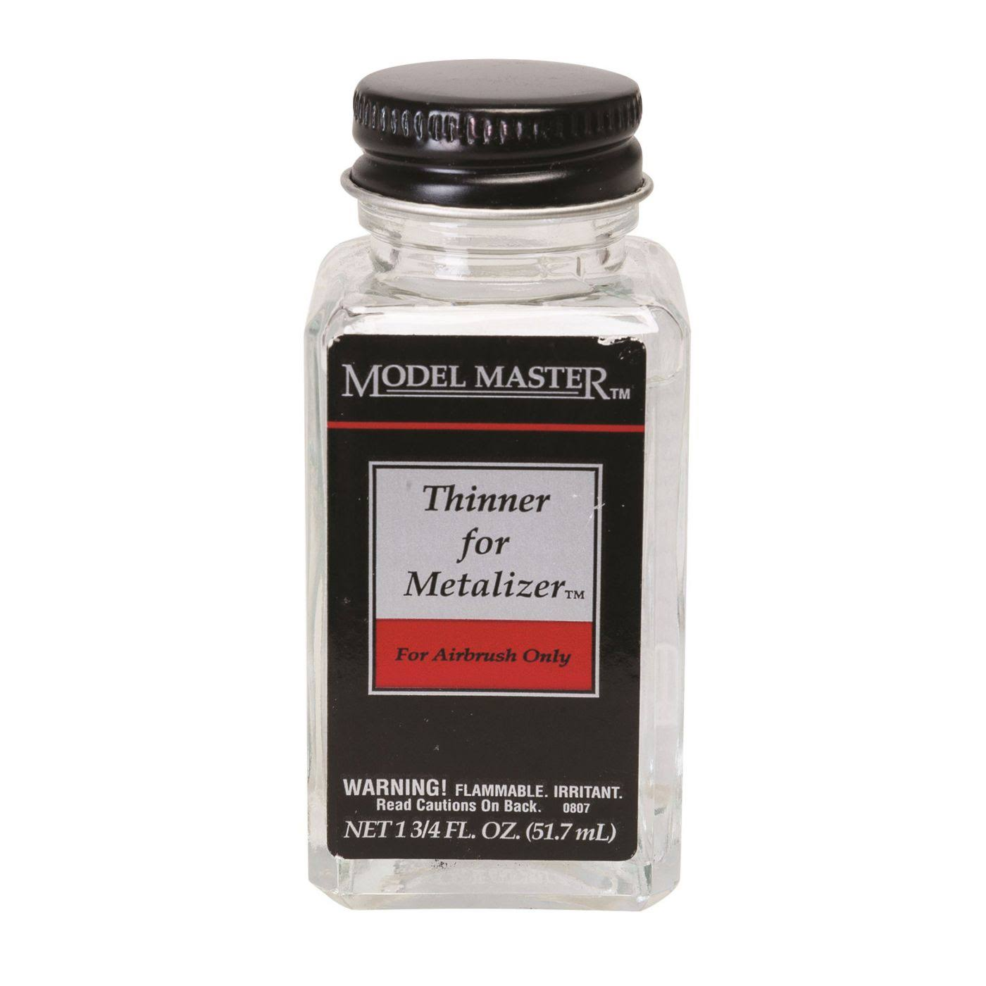 Testors Model Master Metalizer Thinner - 1 3/4oz