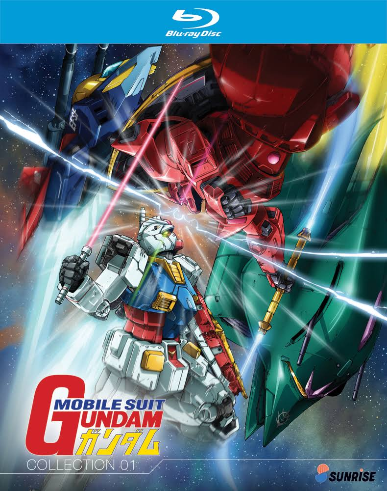 Mobile Suit Gundam: Part 1 Collection Bluray