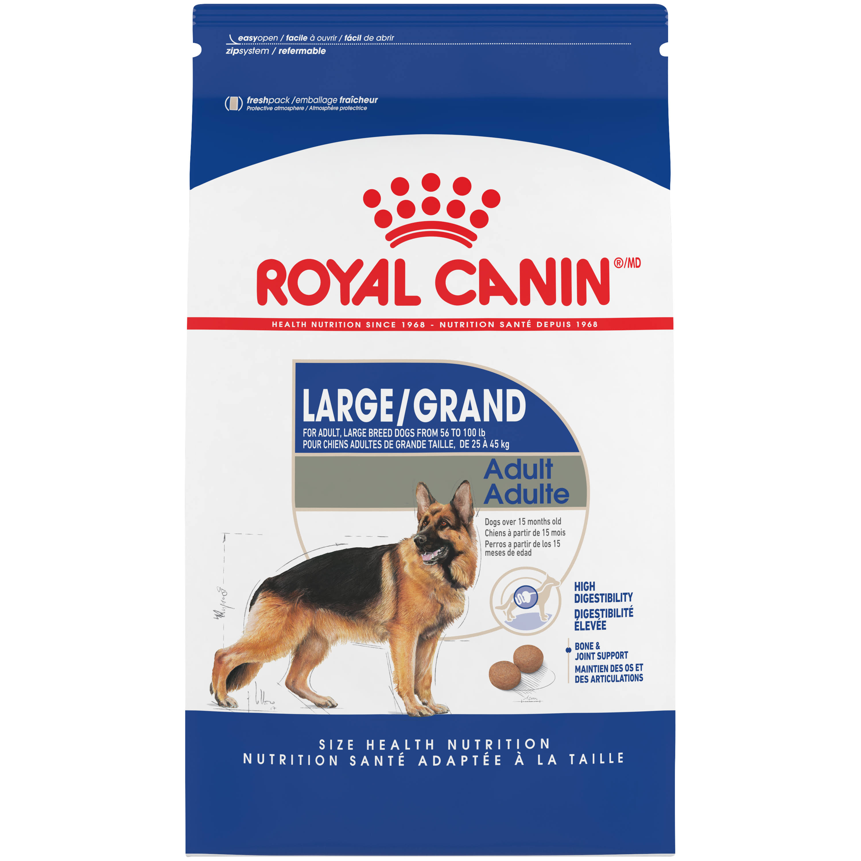 Royal Canin Maxi Large Breed Dry Dog Food - 6lbs