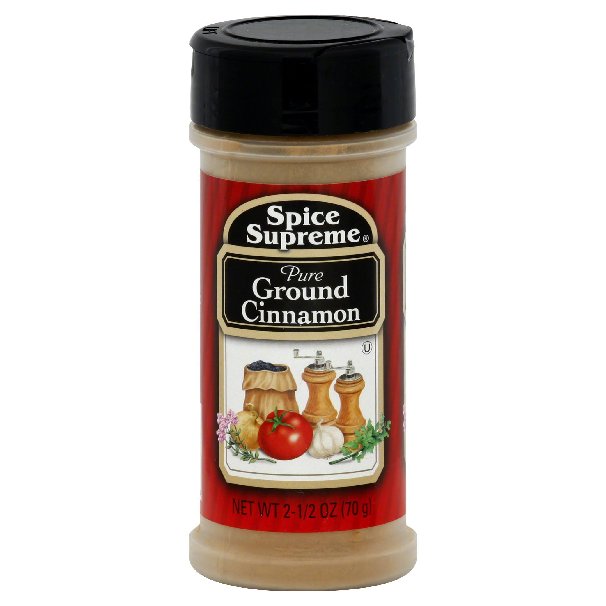 Spice Supreme Cinnamon - Pure, Ground, 70g