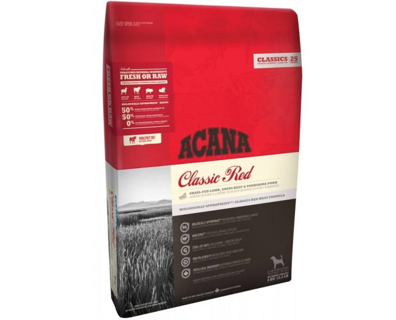 Acana Classic Dog Food - Red, 17kg