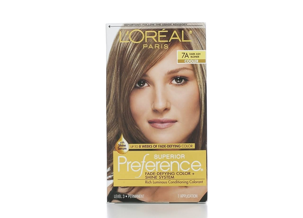 Loreal Superior Preference Hair Color - 7a Dark Ash Blonde