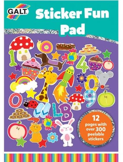 Galt Sticker Fun Pad
