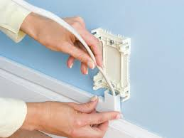 Installing Plug Mold Under Cabinets by How To Hide Wiring Behind Baseboard Or Install A Raceway How Tos