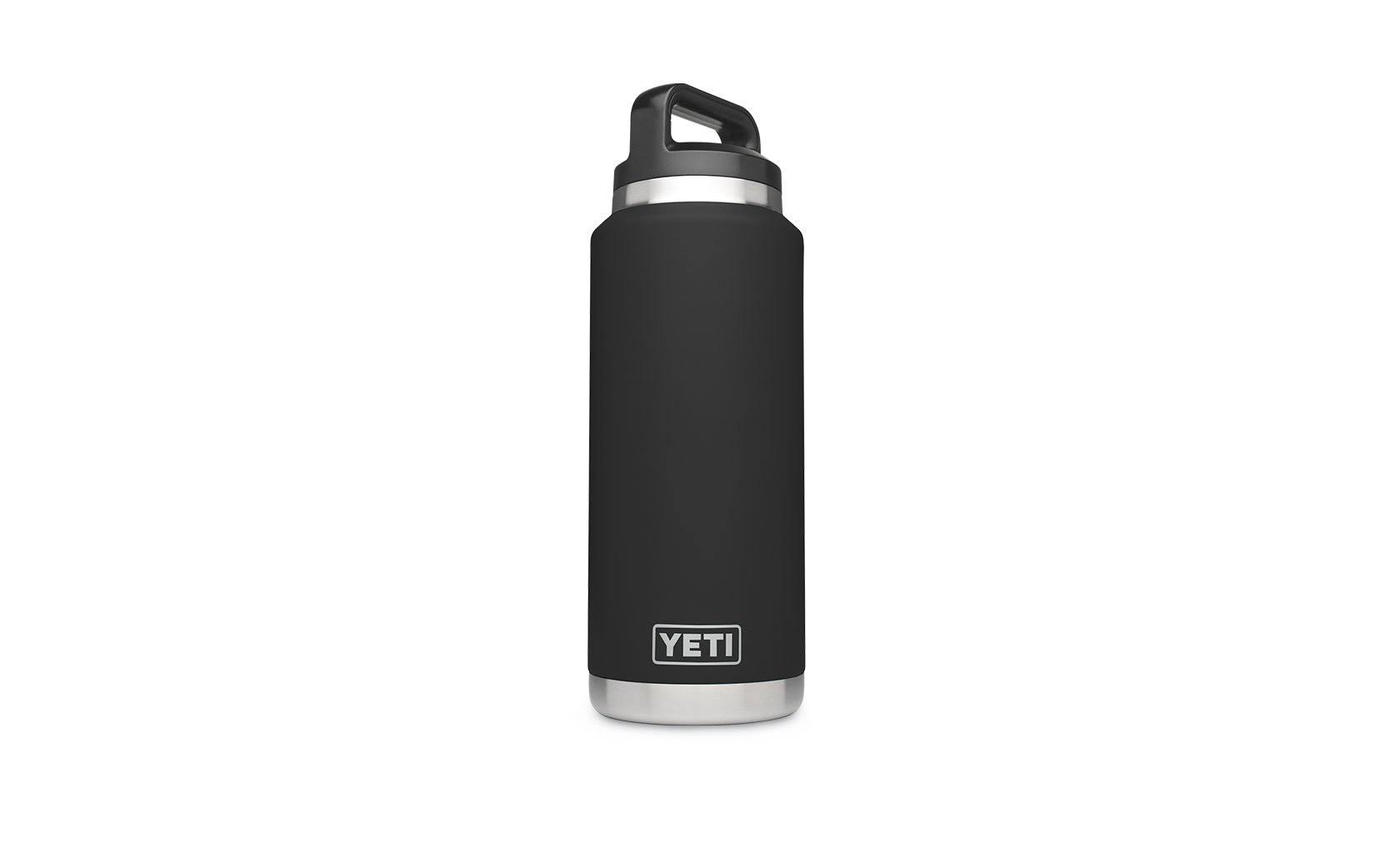 Yeti Rambler Vacuum Insulated Bottle - Black, 36oz