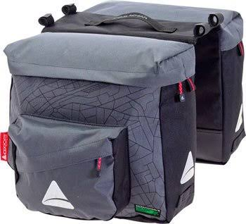 Axiom Seymour Oceanweave P25 Panniers - Gray & Black