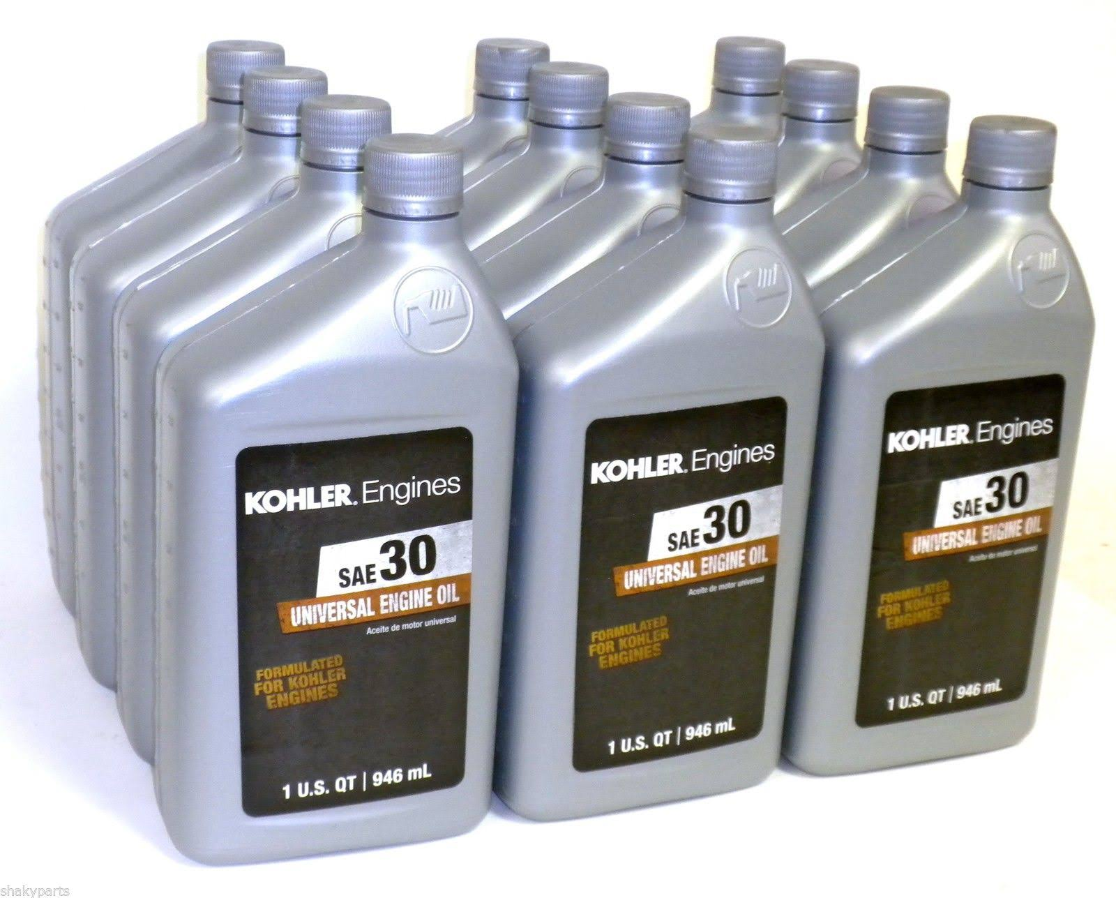 Kohler Case of Oil - Magnum