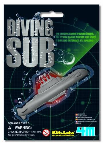 4m Science Baking Soda Powered Diving Submarine