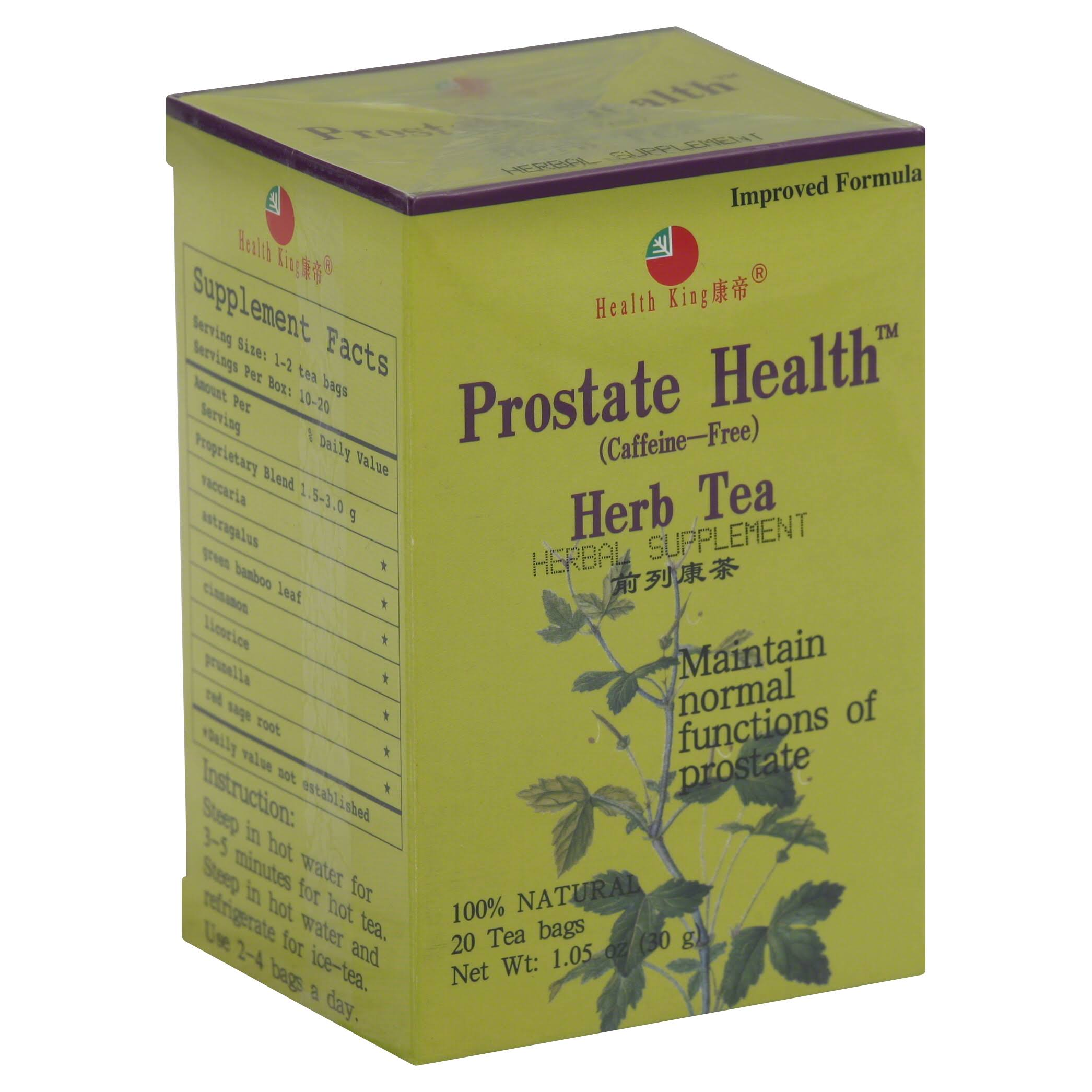 Health King Prostate Health Herb Tea