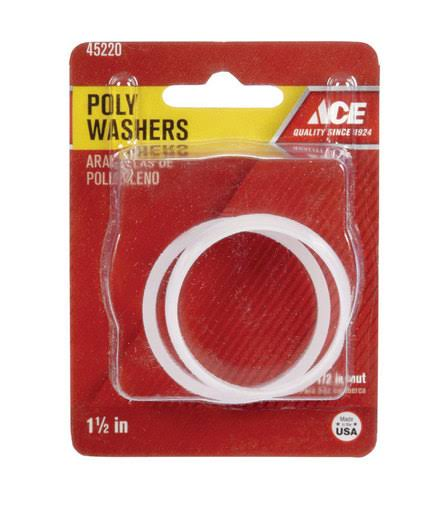 Ace Poly Washers - 1-1/2""