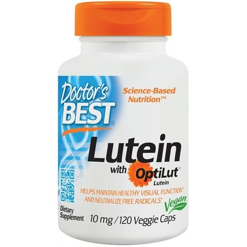 Doctor's Best Lutein Supplement - 20mg, 120 Caps