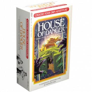 Choose Your Own Adventure House of Danger Card Game