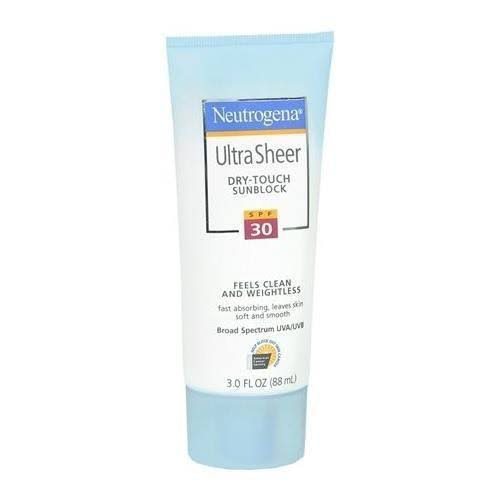 Neutrogena Ultra Sheer Dry-Touch Sunscreen for Body - SPF 30, 3oz