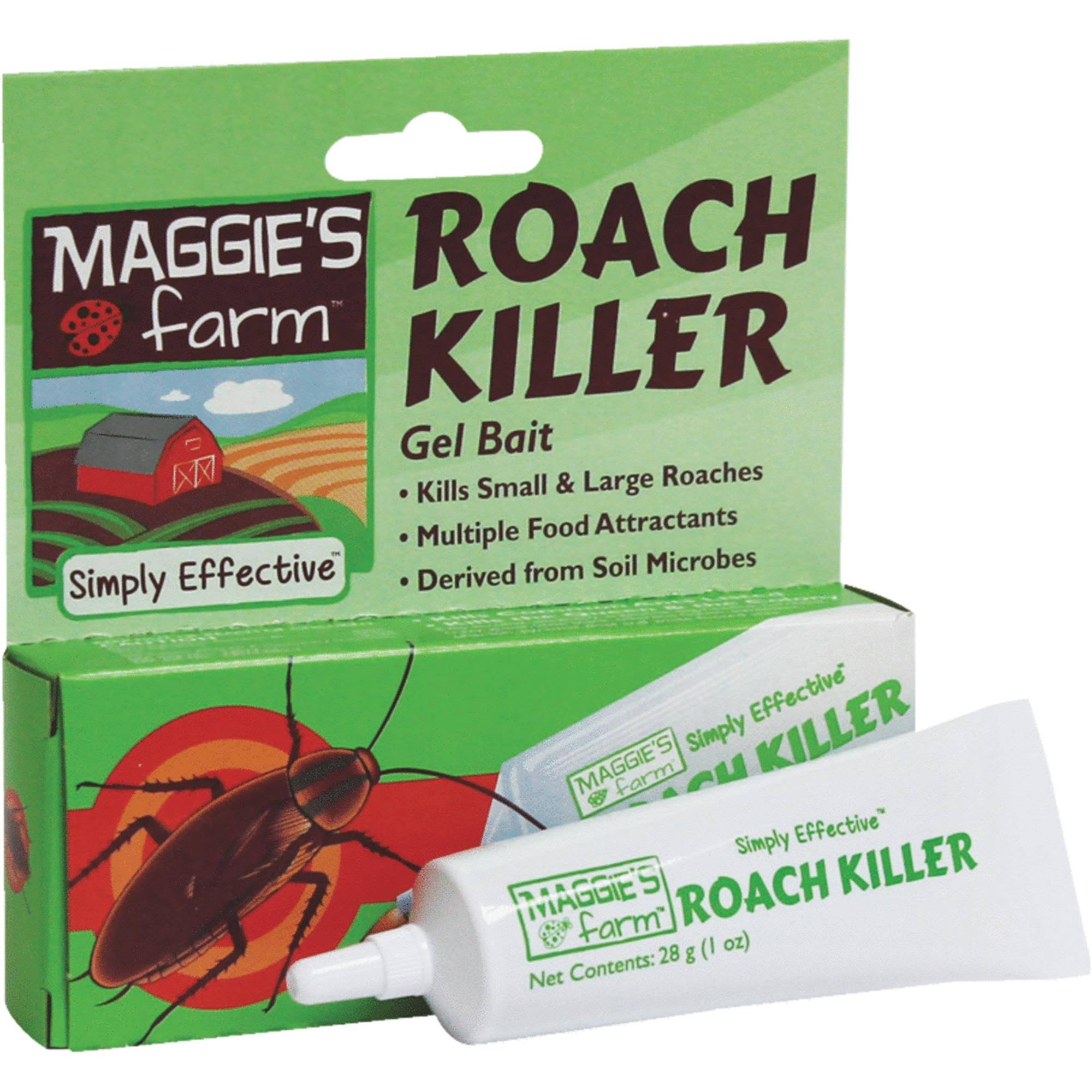 Maggie's Farm Roach Killer - 1 oz