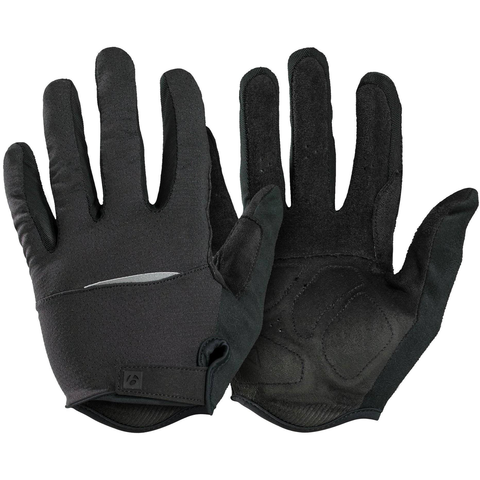 Bontrager Circuit Full Finger Cycling Glove - Black - X-Large